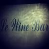 Enseigne intérieure du Wine Bar, Reims