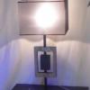 Lampe acier/inox