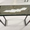 Console selon modèle météorite en version déchirure.