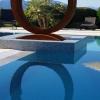 Sculpture acier corten (autre vue)