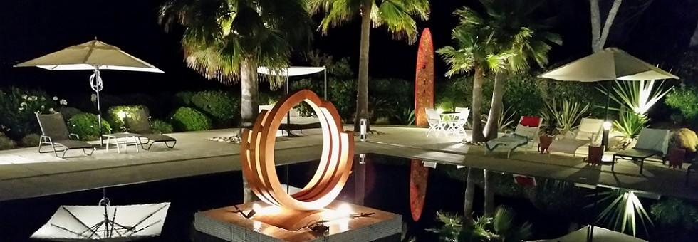 Sculpture acier corten